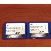 RICOH TYPE M3/3503/2503 TYPE M4/6003 PostScript3 unit original new